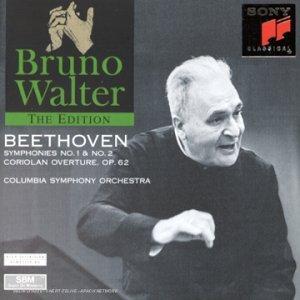 Symphonies Nos 1 & 2 ( coll. Bruno Walter Edition )