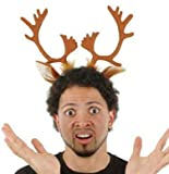 Festive Reindeer Antlers Headband