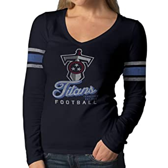 NFL Tennessee Titans Ladies Homerun Long Sleeve Tee by