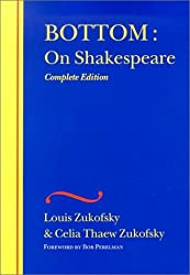 Bottom: On Shakespeare (The Wesleyan Centennial Edition of the Complete Critical Writings of Louis Zukofsky)