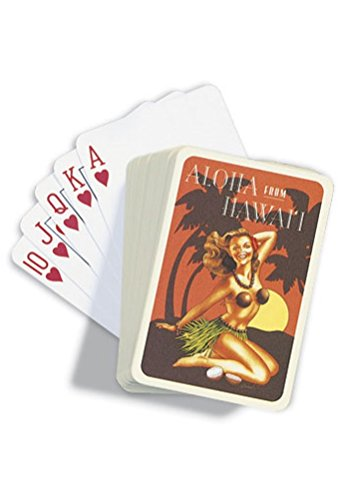 Island Heritage Aloha From Hawaii Playing Cards - 1