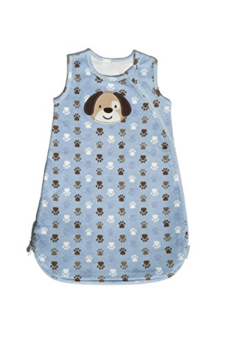 Carter's Wearable Blanket, Blue Puppy, Small - 1