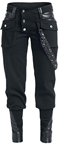 Vixxsin Grain Pant Pantaloni donna nero 29