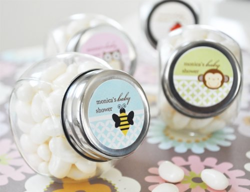 Baby Animals Baby Shower Candy Jar Favors