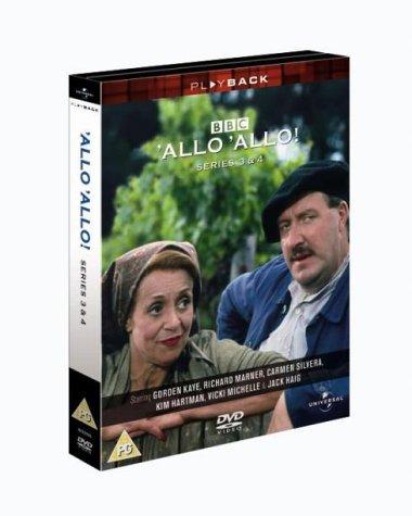 'Allo 'Allo! - Series 3 & 4 [1986] [DVD] [1982]