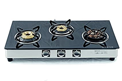 Meethi Angeethi Gas Cooktop (3 Burner)