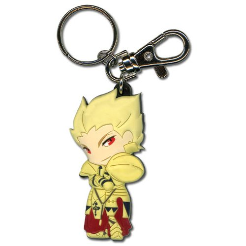 Fate/Zero Archer/Gilgamesh Key Chain
