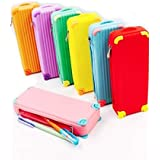 Attractive Suitcase Shaped Pencil Cases For Teenagers,Youngster,Kids Pack Of 1 Color May Vary (With Free Token)