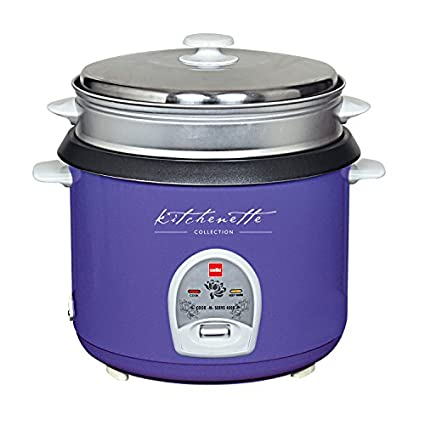 Cello-Cook-N-Serve-400-B-2.8-Litre-1000-Watt-Rice-Cooker-(Violet)
