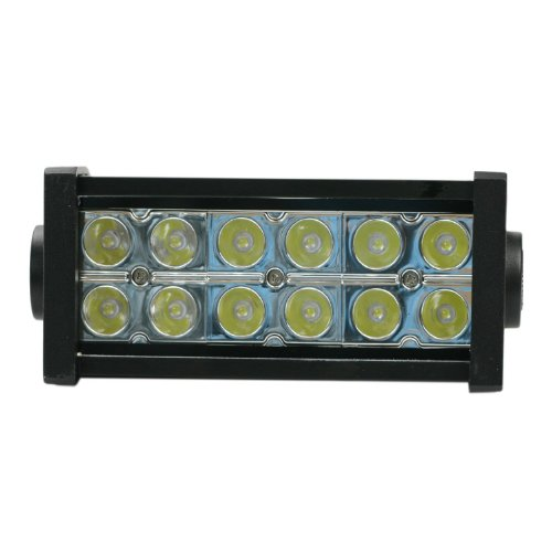 Ecvision® 36W Super Bright Waterproof Off Road Led Spot Work Light For Jeep Polaris Offroad Tractor Marine Truck-Compatible With Both 12V And 24V Vehicles (Black)