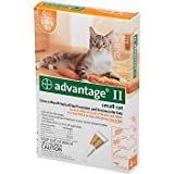 Bayer Advantage II Orange 4-Month Flea Control for Cats 5-9 lbs.