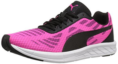 PUMA Women's Meteor Wn's Running Shoe, Pink/Puma Black, 8.5 M US