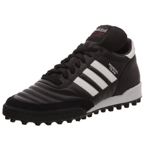 Adidas - Mundial Team, Scarpe Da Calcio da uomo, Nero (Black/Running White Ftw/Red), 46 EU