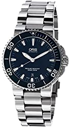 Oris Aquis Blue Dial Mens Watch 733-7653-4155MB