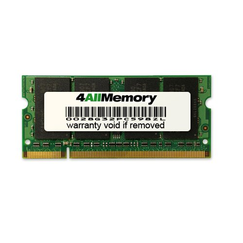 Click to buy 4GB DDR2-667 (PC2-5300) RAM Memory Upgrade for the Toshiba Satellite A205-S7459 - From only $71.48