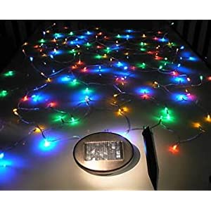Click to buy GudCraft Solar Powered 35-Foot Holiday String Lights, 100 LED Multicolor from Amazon!