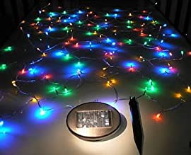Solar Powered Christmas Lights String Light 100LED Multicolor