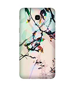 Multi Colour Nature Printed Back Cover Case For Samsung Galaxy J5