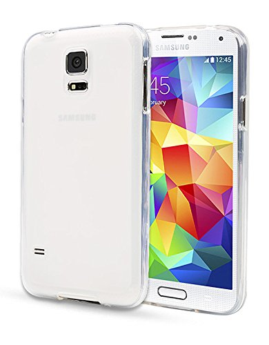 Note2 Case, Aqua Jelly Cover, Samsung Galaxy Note 2, Soft Thin Mobile 5 Colors Ultra Slim Fit (At&T, Verizon, Sprint, T-Mobile) Tpu - Retail Packaging (Clear White)
