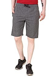 Aventura Outfitters Single Jersey Shorts Anthra Melange with Red Stripes & Two White Piping - XXL (AOSJSH312-XXL)
