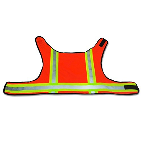 BowWow Classic Designs* High Visibility - Dog Safety Vest (Orange Medium)