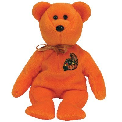 Ty Beanie Babies - Thankful the Bear (Ty Store Exclusive) - 1