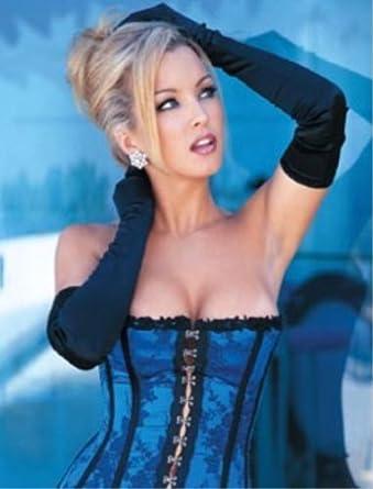 jacquard Asian corset strapless