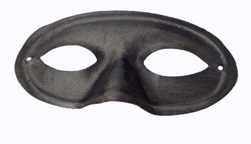 WeGlow International Plastic Mask, Set of 8, Black - 1