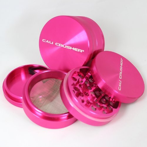 Pink 2.5 Cali CrusherÃ'Â 4 Piece Herb Grinder... by Cali CrusherÃ'Â (Cali Crusher Grinder Pink compare prices)