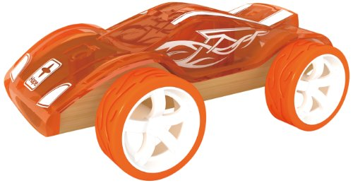 Hape Bamboo Mighty Mini Twin Turbo Toy Car