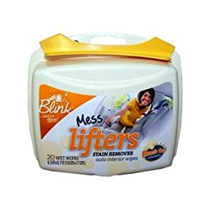 Blink Mess Lifters Auto Interior Wet Wipes by Honeywell