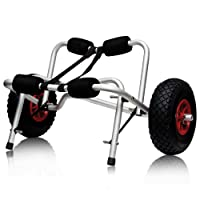 Boat Kayak Canoe Carrier Dolly Trailer Tote Trolley Transport Cart Wheel  by Sky Enterprise USA