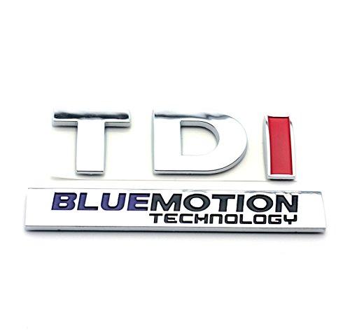 [해외]TDI 블루 모션 자동차 후면 부팅 트렁크 배지 엠블럼 스티커/TDI BLUEMOTION Car Rear Boot Trunk Badge Emblem Sticker