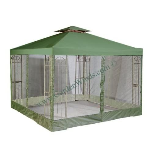 Garden Winds Universal Green 10 X 10 Two Tiered
