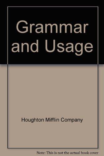 Grammar and Usage, Houghton Mifflin Company