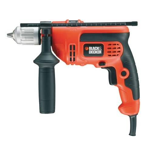 417X6gDsglL - BEST BUY #1 Black + Decker KR714CRESK 710W Variable Speed Hammer Drill