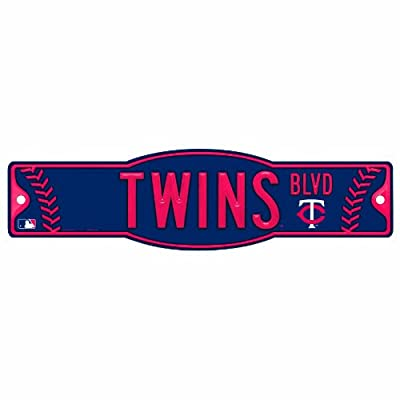 MLB Minnesota Twins 4.5-by-17 Sign