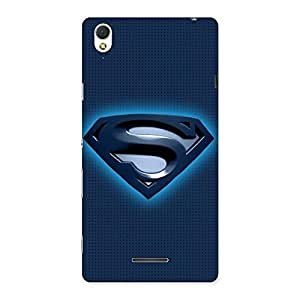 Blue Day Back Case Cover for Sony Xperia T3