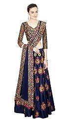 Pramukh Group Heavy Designer Wedding Style Blue Beautifull Lehenga Choli