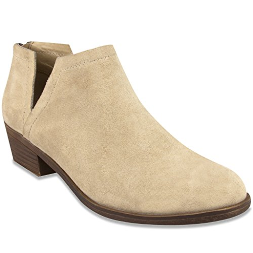 Sugar Women's Tessa Ankle Bootie Natural Fx Sde (Rain Boots Arch Support compare prices)