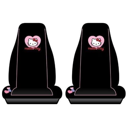 Hello Kitty Car Bucket Seat Covers