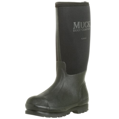 The Original MuckBoots Adult Chore Hi-Cut Boot,Black,Men's 5 M/Women's 6 M