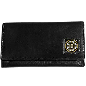 NHL Boston Bruins Genuine Leather Women's Wallet