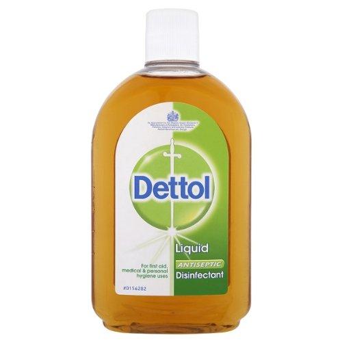 Dettol Liquid Antiseptic Disinfectant 500ml - Pack of 6