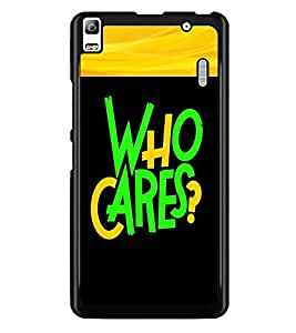 PrintDhaba Quote D-2681 Back Case Cover for LENOVO K3 NOTE (Multi-Coloured)