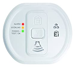 Ei Electronics Contemporary Designed Carbon Monoxide Alarm with Memory Feature Powered by Ei Electronics