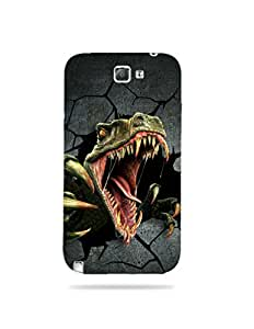 alDivo Premium Quality Printed Mobile Back Cover For Samsung Galaxy Note 2 / Samsung Galaxy Note 2 Printed Mobile Back Cover (MKD372)