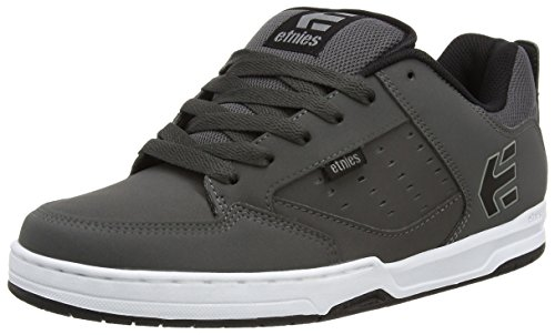 EtniesKartel - Scarpe da Skateboard uomo, Grigio (Dark Grey/Black/White), 37.5 EU / 4.5 UK