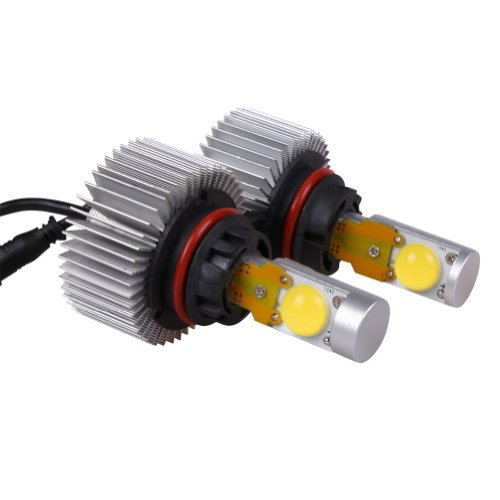Generic 9004 High/Low Dual Led Headlight Conversion Kit - All Bulb Sizes - 40W 3800Lm Led - Replaces Halogen & Hid Bulbs