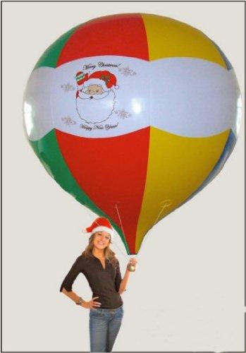 Giant Santa Christmas Holiday Balloon front-378539